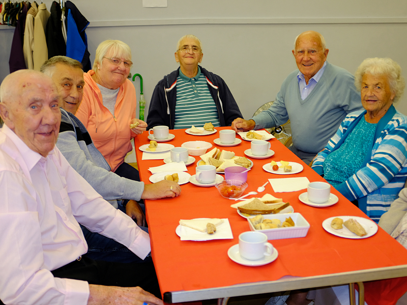 Cottingley Senior Citizens Tea Party - Our Guests