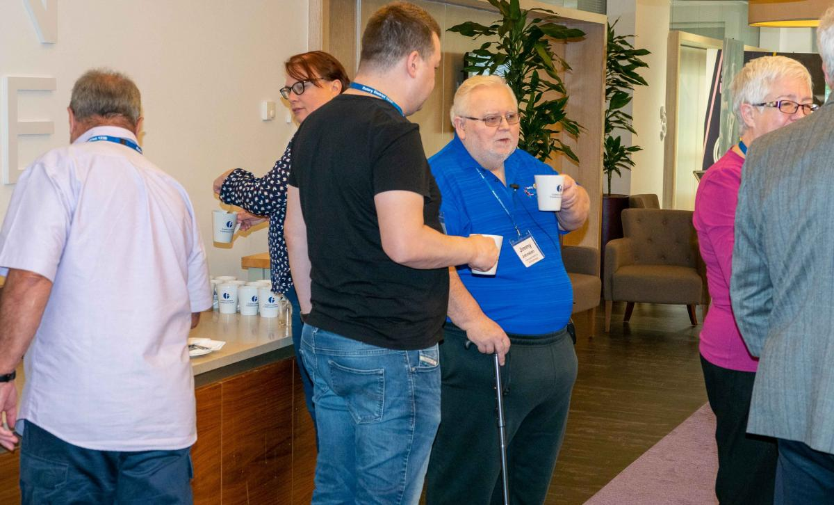 D1230 Annual Conference 2019 Photos - Coffee break