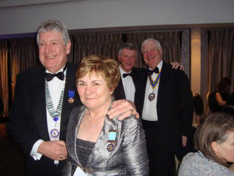 Joint Presidents Night 2014 - DG Dave & Anne
