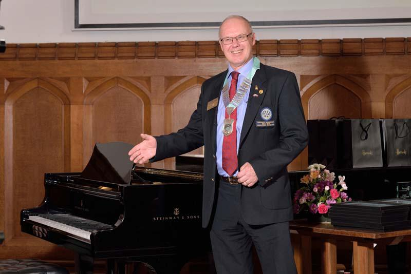 Robert wins RIBI Young Musician!   - District Governor of Cornwall and West Devon, Stephen Lay