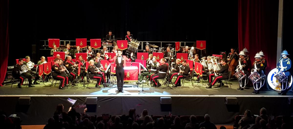 District Governor's Newsletter - February 2019 - Royal Marines Band, Portsmouth at the Alban Arena