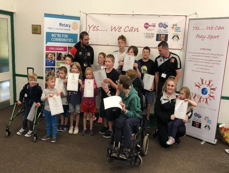 District Governor's Newsletter - February 2019 - RIBI Community Cup Winners – Leighton Linslade's 'Yes We Can' project