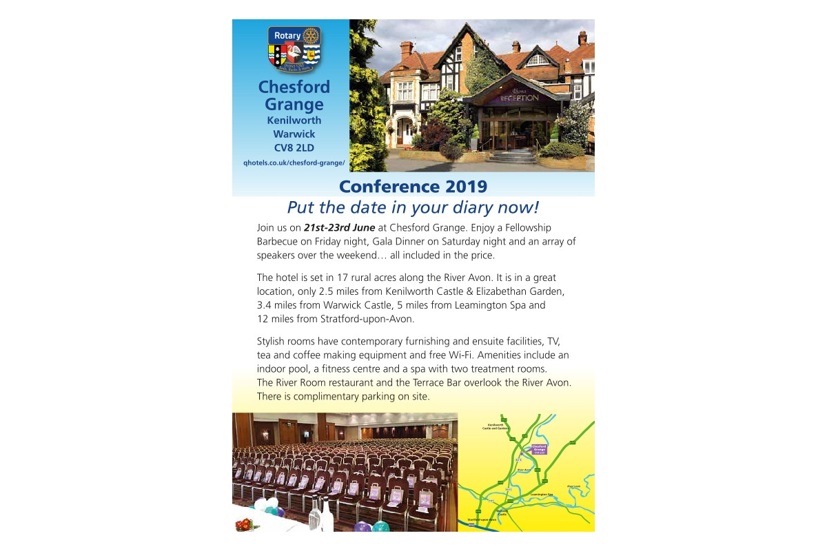 District Governor's Newsletter - July 2018 -