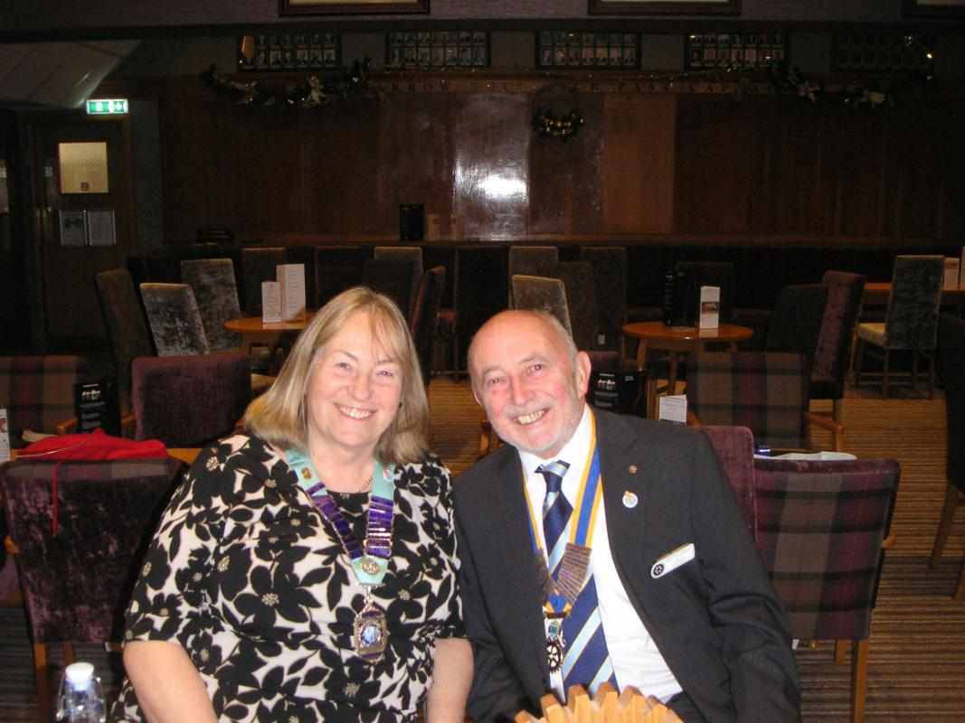 District Governor's Visit -