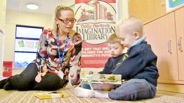 Dolly Parton Imagination Library - DPIL Grimsby Institute