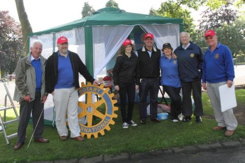 Beveridge Park Festival 2012 - The RC Kirkcaldy team