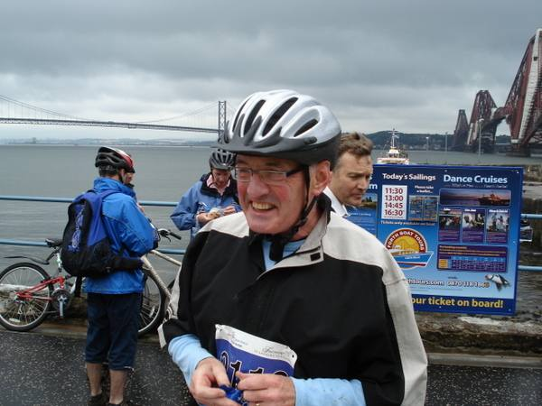 Two Capitals Cycle Run 2007 - Past President Ken