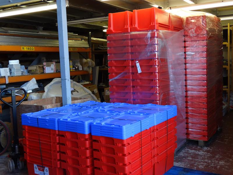 Water Survival Boxes made ready - DSC00522