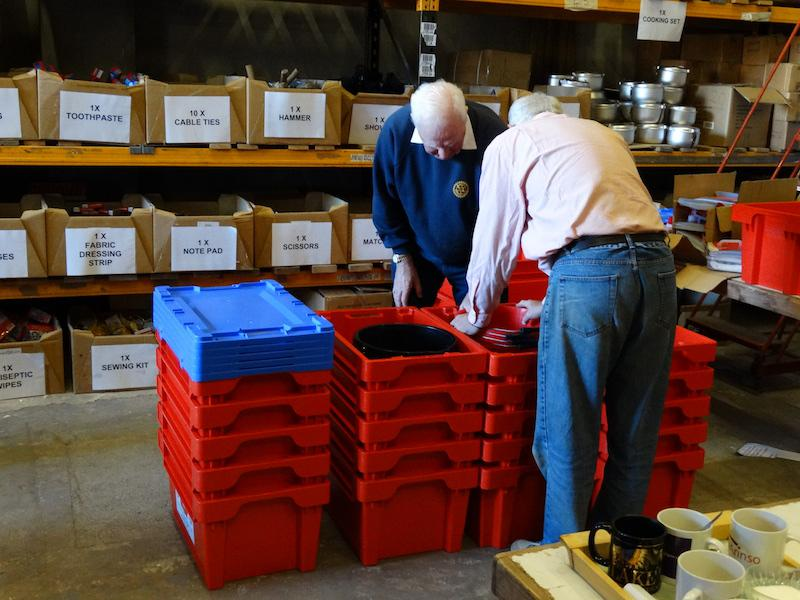 Water Survival Boxes made ready - DSC00523 1