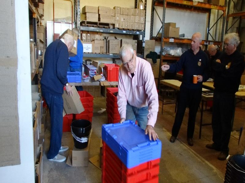 Water Survival Boxes made ready - DSC00528