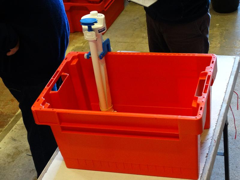 Water Survival Boxes made ready - DSC00536