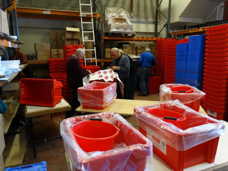Water Survival Boxes made ready - DSC00562 2