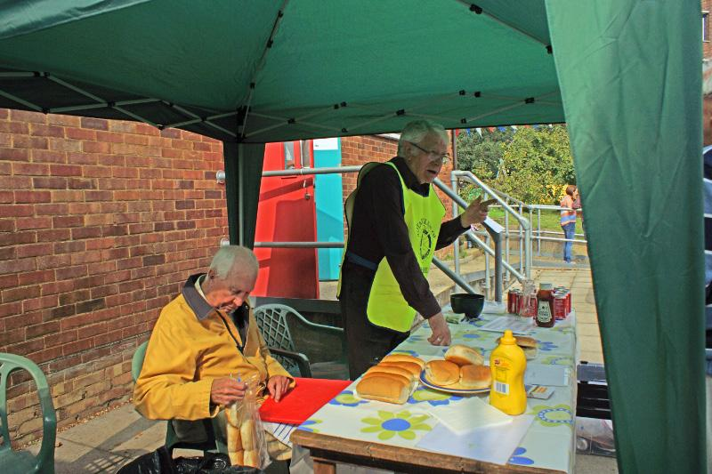 We're for Communities - Our Burger Bar at the Fire Station Open Day