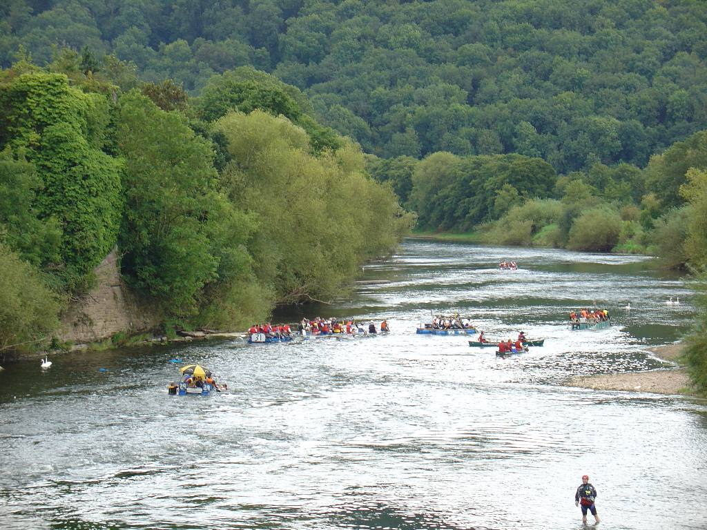2007 Raft Race - The race in progress