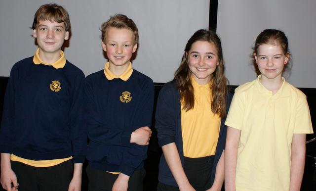 Primary School Quiz, Area 7 Final - 2016 Runners-up Dunning Primary School