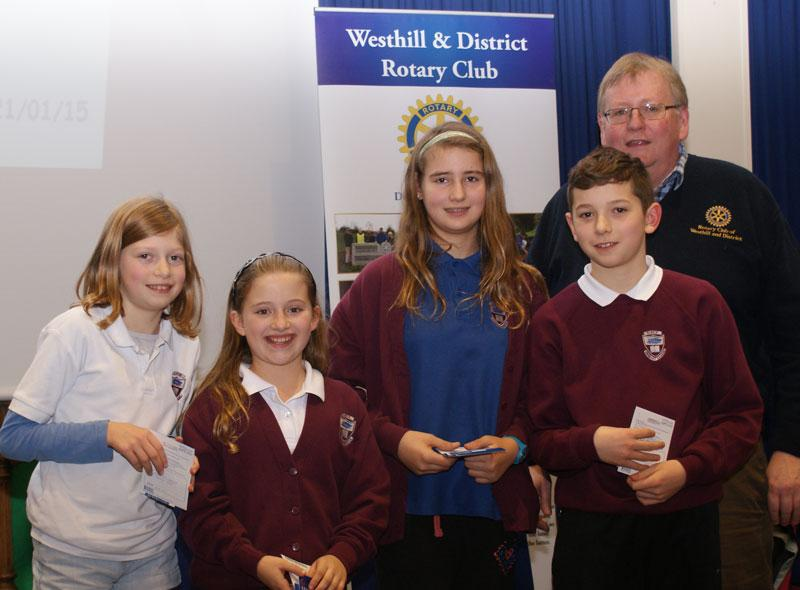 Rotary Primary Schools Fun Quizs P4 to P7 - P6 Winners