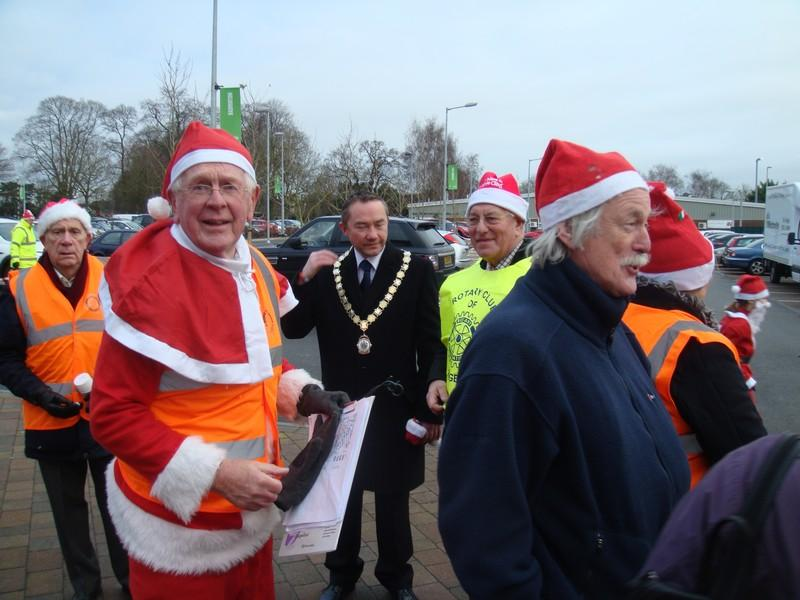 The Rotary Santa Fun Run December 2014 - DSC02178