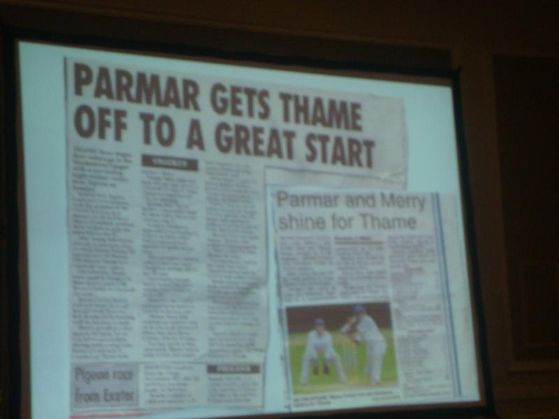Manoj Parmar's talk about his career in cricket -