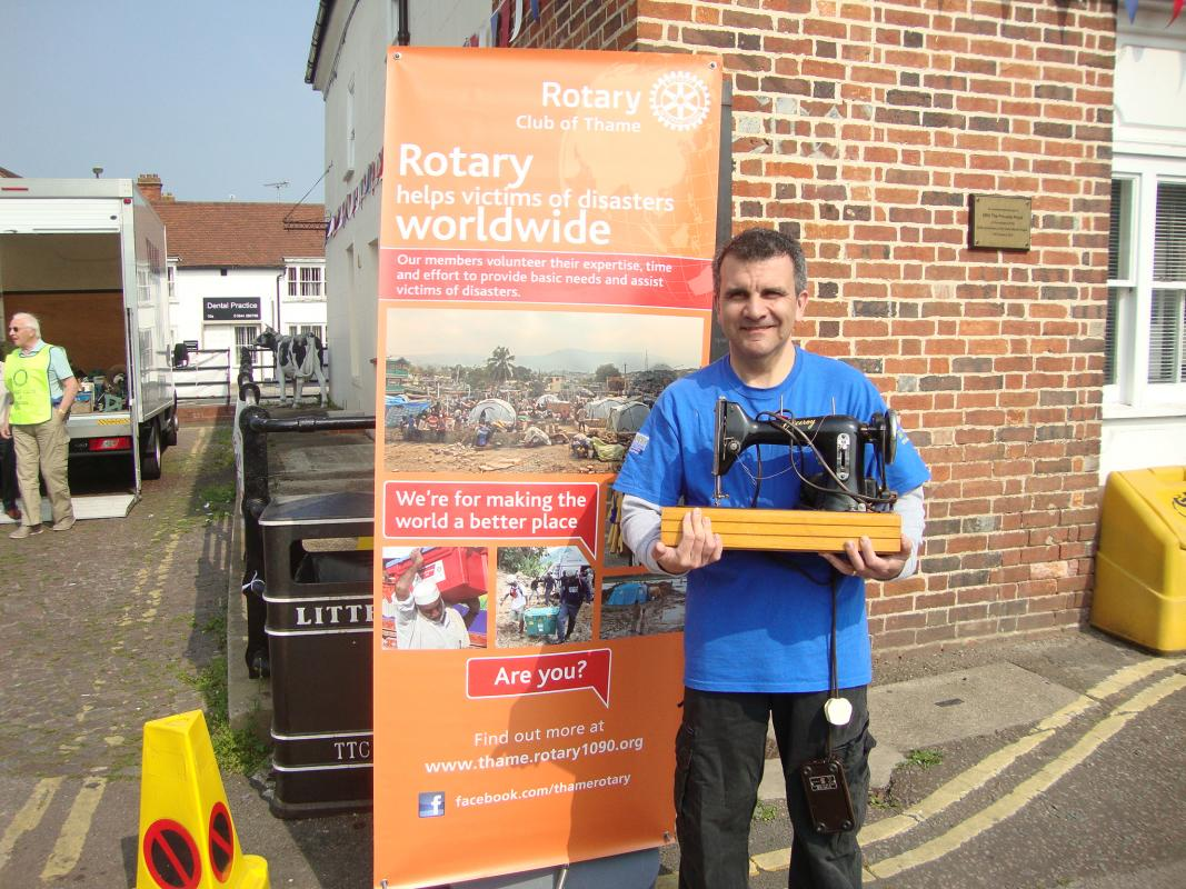 Donate your unwanted tools - who was interviewed about this collection by Mix 96 FM Radio and BBC Radio Oxford.
