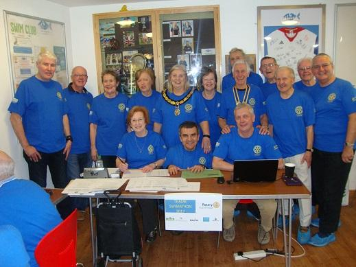 Thame Swimathon 2017 - from  Rotary, Lions, Inner Wheel