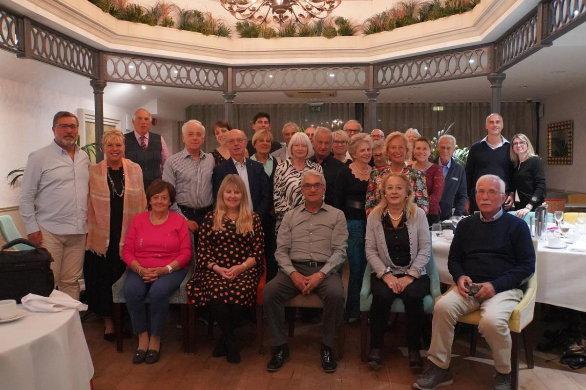 Visit by Rotary Club of Siena - Gonville Hotel
