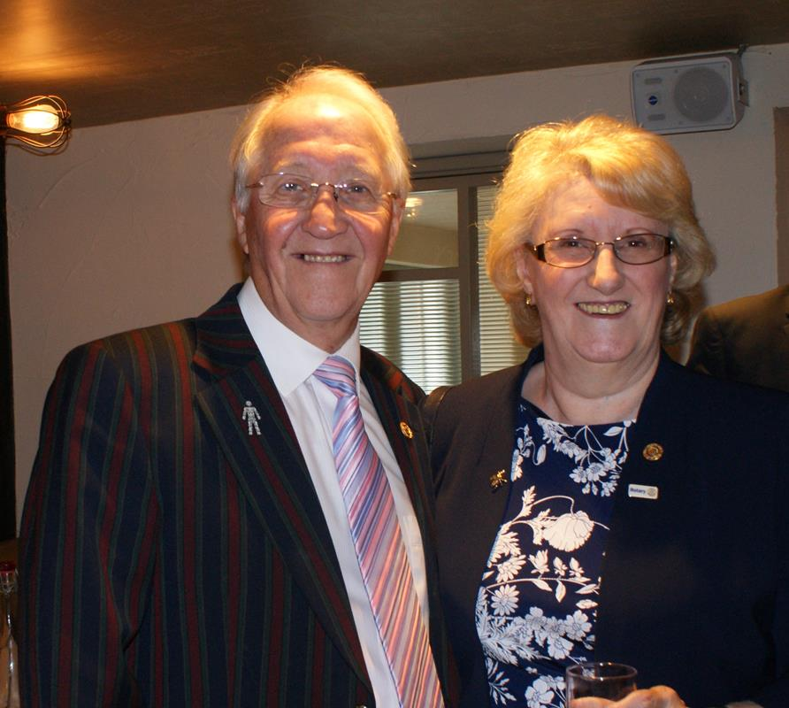 Afternoon Tea in aid of Prostate Cancer UK - Denise Ellis is a member of the Salford with Swinton Rotary Club