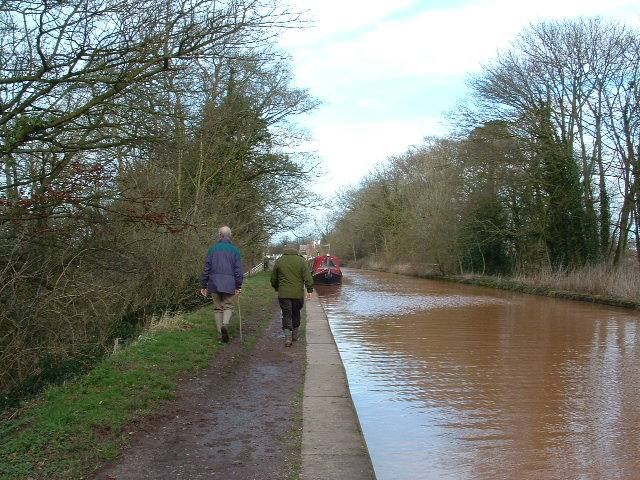 Winter Walk - 5th March 2007 - Approaching Market Drayton