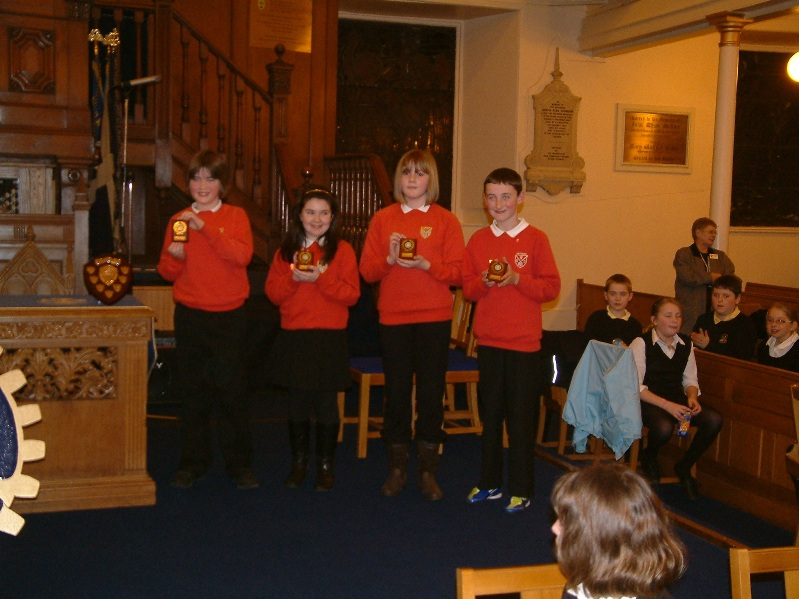 Primary Schools Quiz 2012 - Winners Onthank