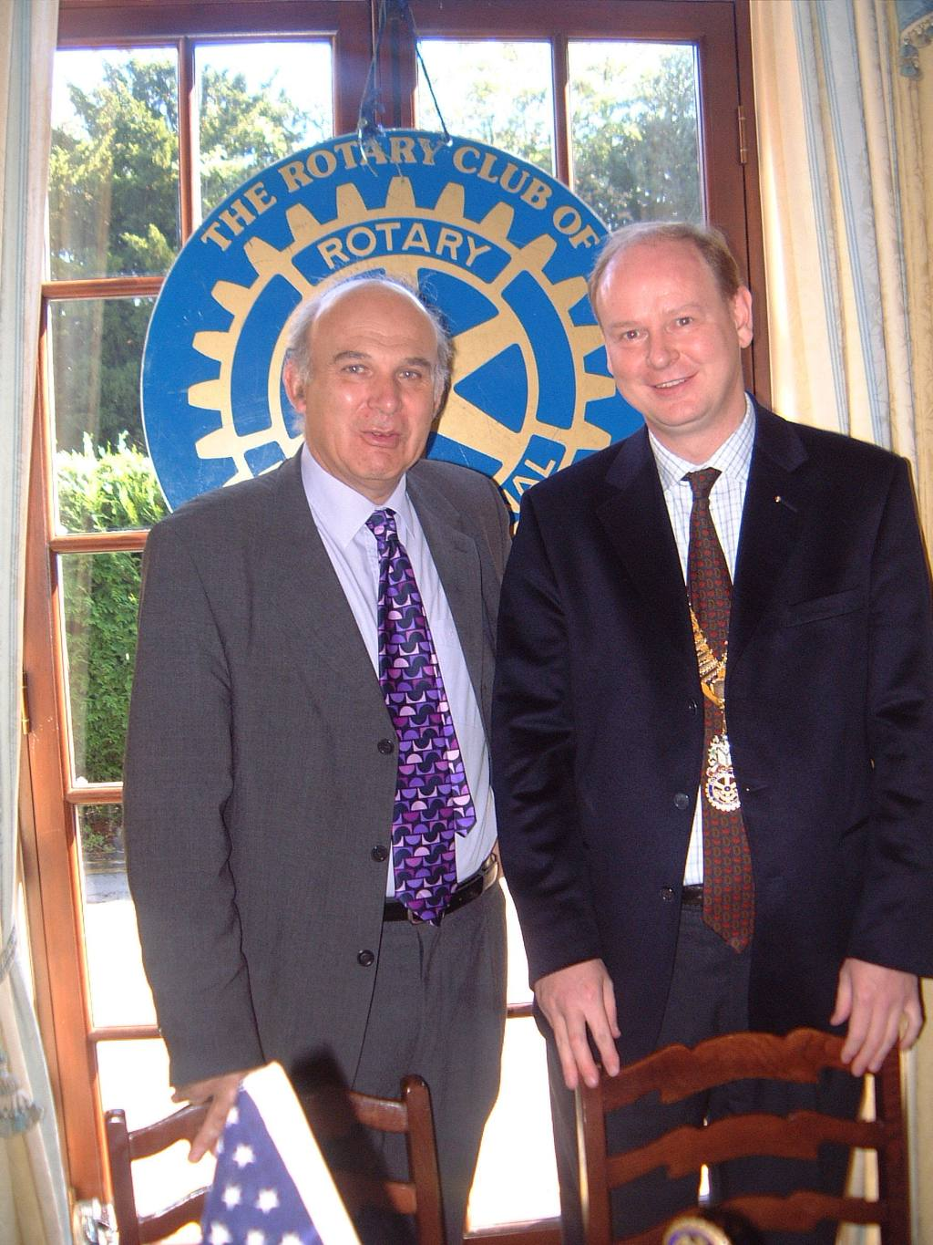 Club Members - Twickenham MP, Dr Vincent Cable, is an honorary member of the club.