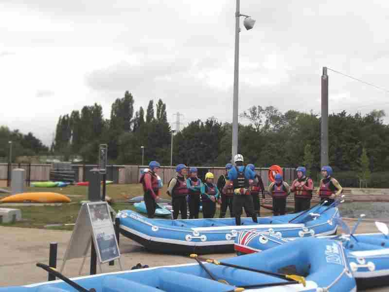 Visit to Lee Valley White Water Centre - DSCF1154 2