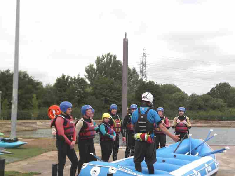 Visit to Lee Valley White Water Centre - DSCF1155 1