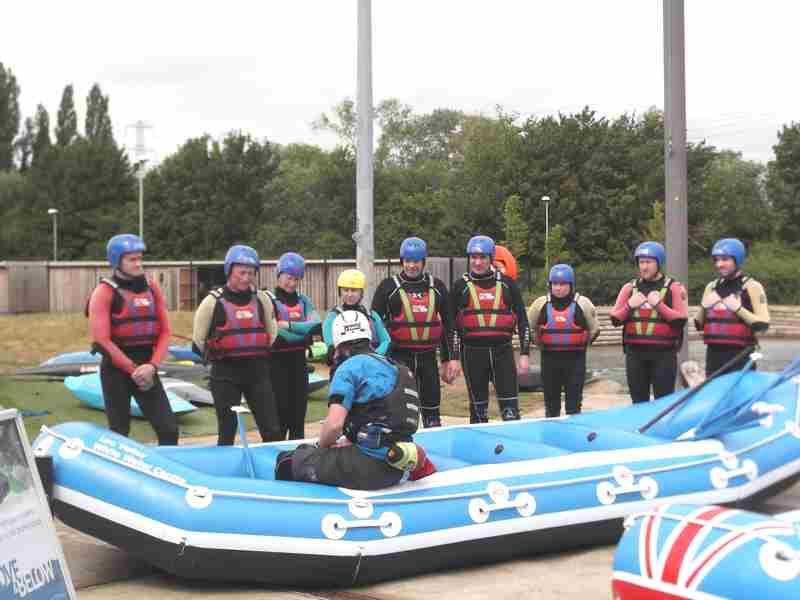 Visit to Lee Valley White Water Centre - DSCF1156 2