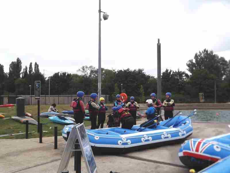 Visit to Lee Valley White Water Centre - DSCF1157 2