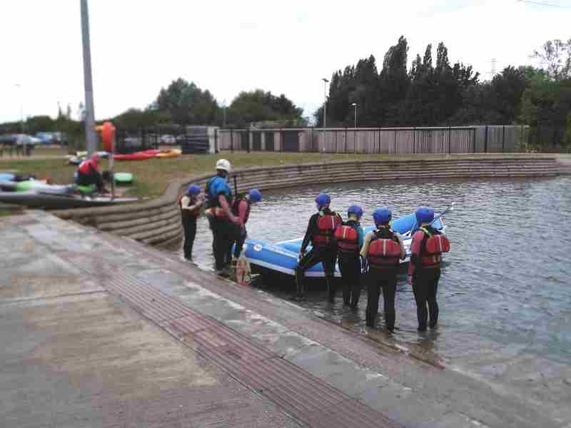 Visit to Lee Valley White Water Centre - DSCF1159 2