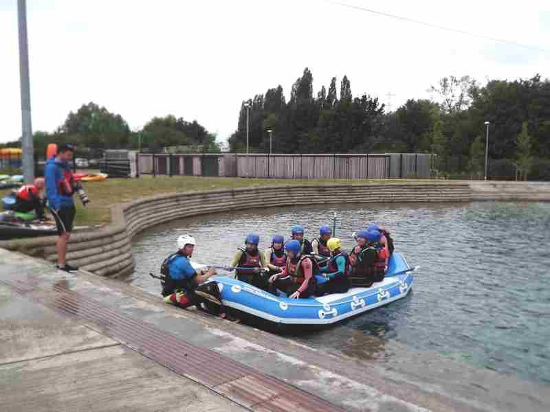 Visit to Lee Valley White Water Centre - DSCF1160 1