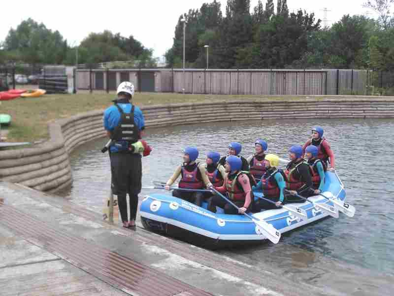 Visit to Lee Valley White Water Centre - DSCF1161 1