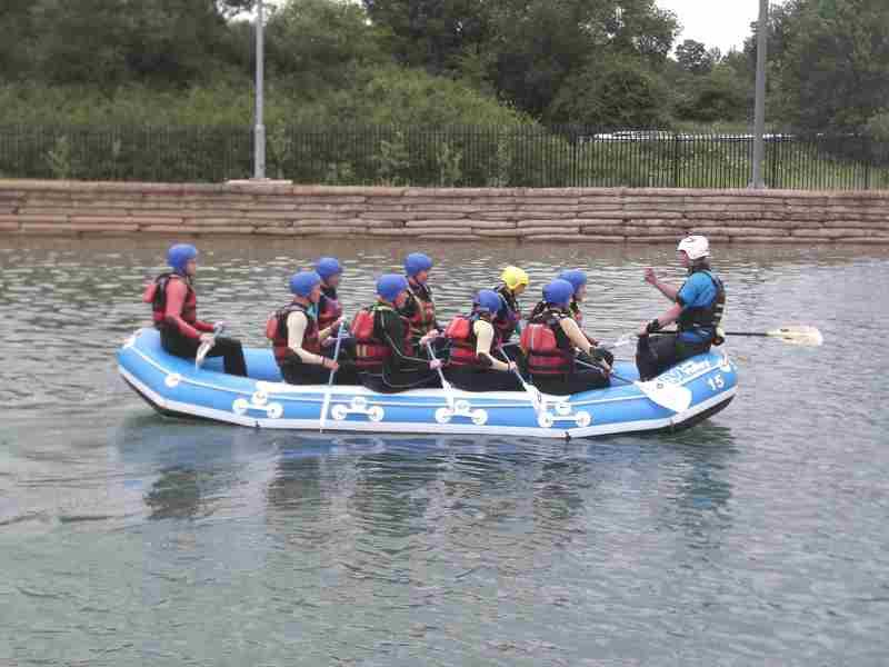 Visit to Lee Valley White Water Centre - DSCF1162 2