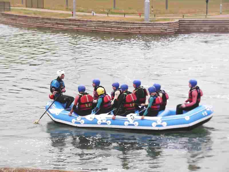Visit to Lee Valley White Water Centre - DSCF1163 1