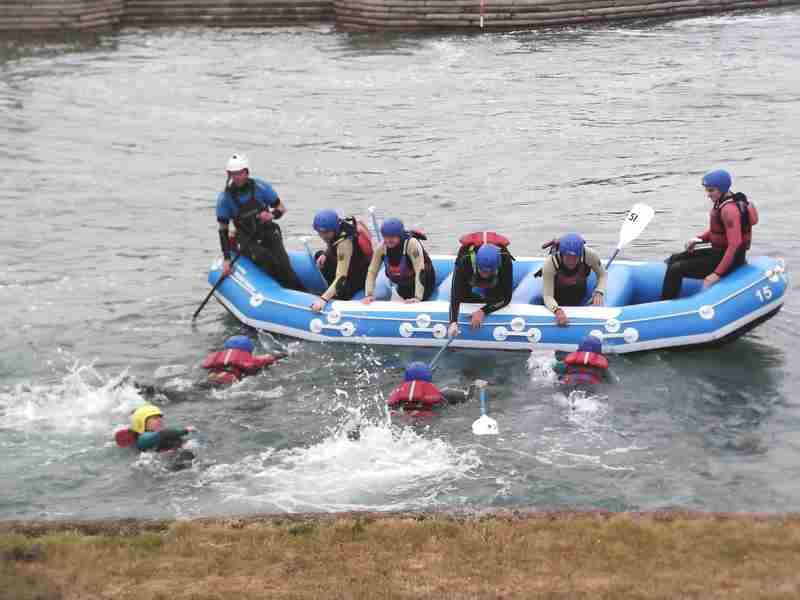 Visit to Lee Valley White Water Centre - DSCF1164 1