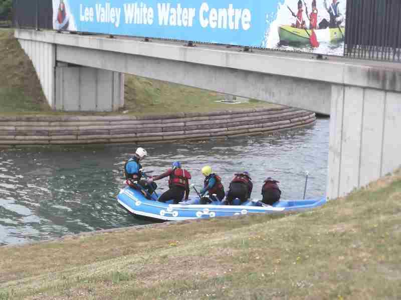 Visit to Lee Valley White Water Centre - DSCF1165 2