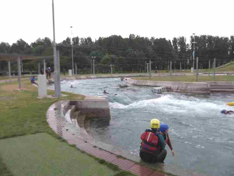 Visit to Lee Valley White Water Centre - DSCF1168