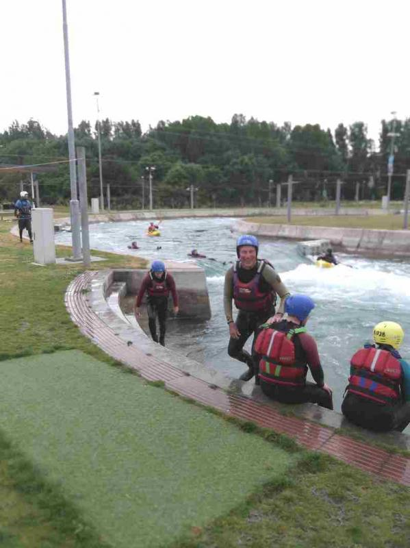 Visit to Lee Valley White Water Centre - DSCF1169