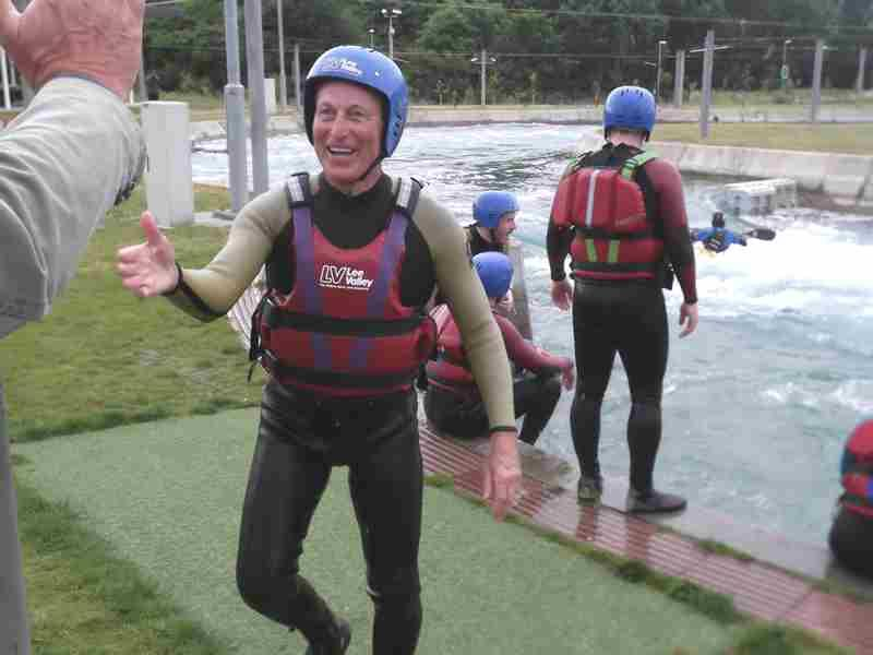 Visit to Lee Valley White Water Centre - DSCF1170 2
