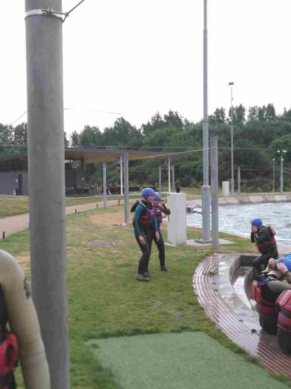 Visit to Lee Valley White Water Centre - DSCF1171 1