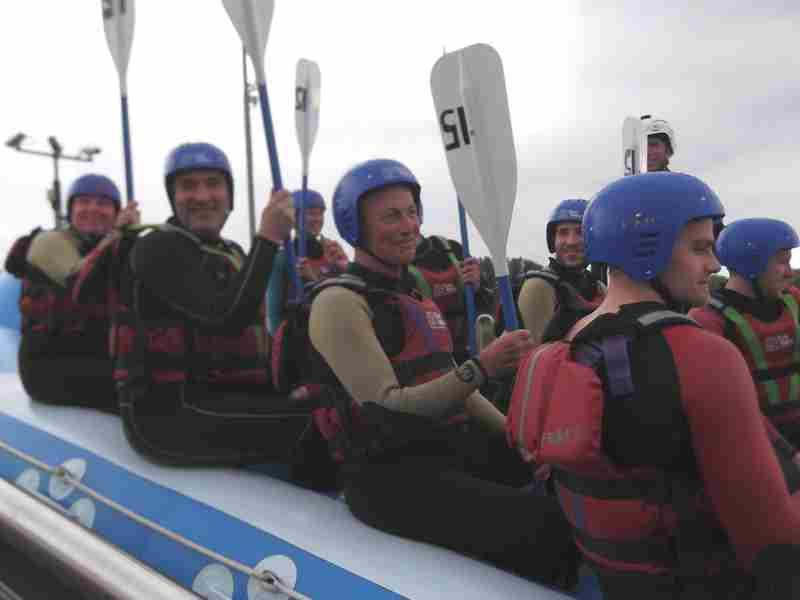 Visit to Lee Valley White Water Centre - DSCF1174 1