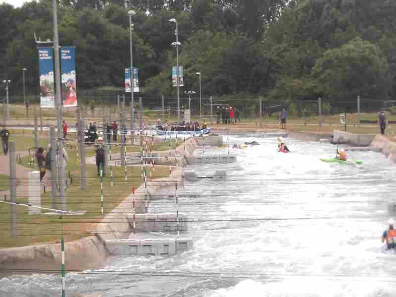 Visit to Lee Valley White Water Centre - DSCF1177