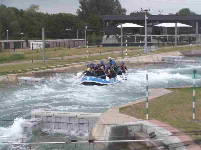 Visit to Lee Valley White Water Centre - DSCF1178 1