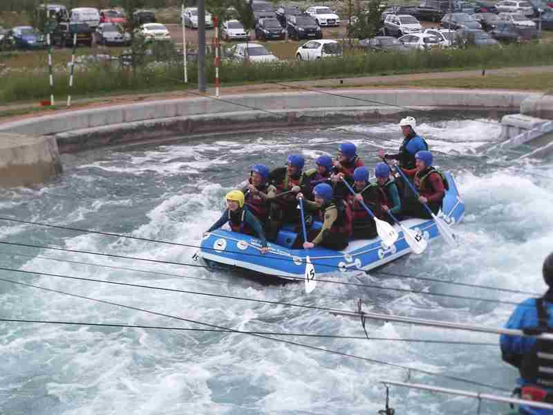 Visit to Lee Valley White Water Centre - DSCF1179