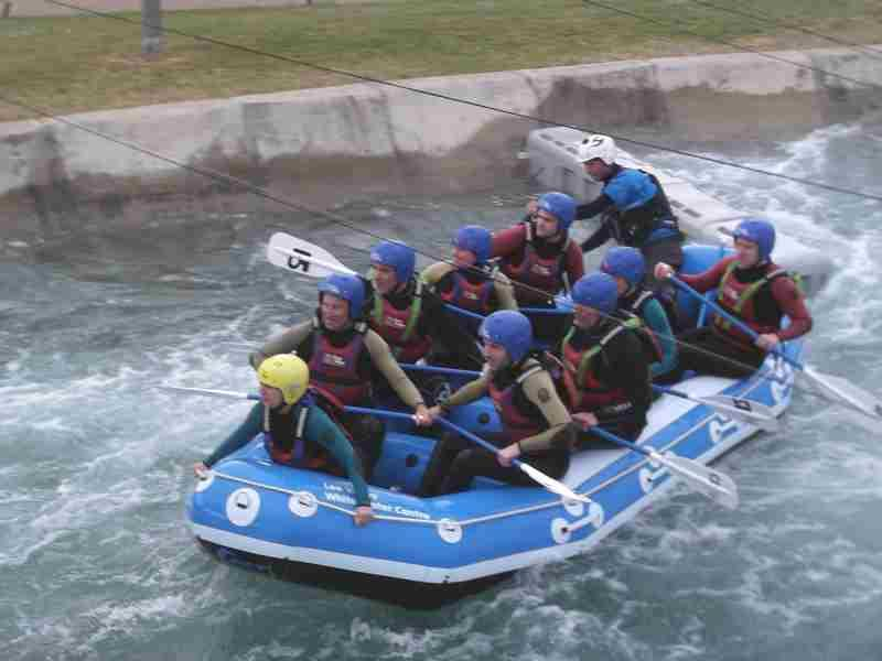 Visit to Lee Valley White Water Centre - DSCF1180