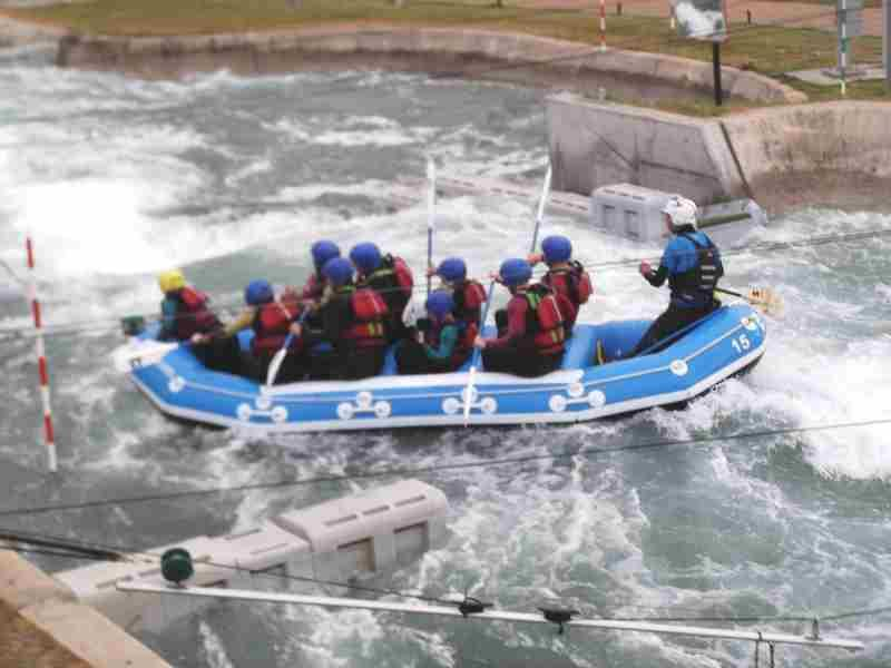 Visit to Lee Valley White Water Centre - DSCF1182